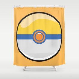 Park Pokeball Shower Curtain