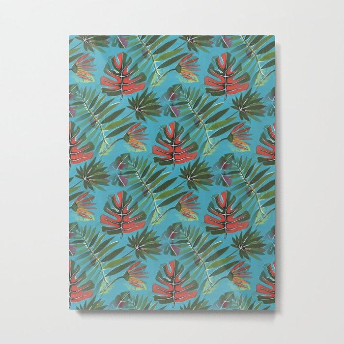 Tropical Jungle Metal Print