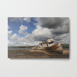 Point Reyes Shipwreck Metal Print