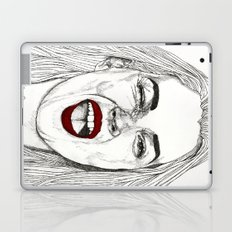 Kate with the Red Lips Laptop & iPad Skin