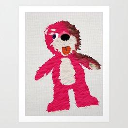 Breaking Bad Teddy Bear Art Print
