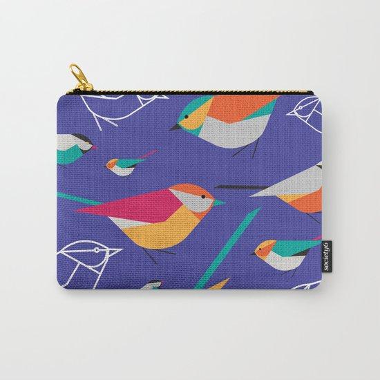 Birds Talk Carry-All Pouch