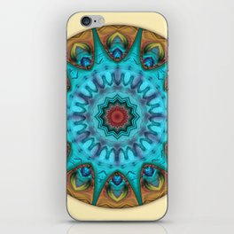 Mandalas from the Heart of Surrender 6 iPhone Skin