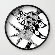 Tenacious Bird Wall Clock