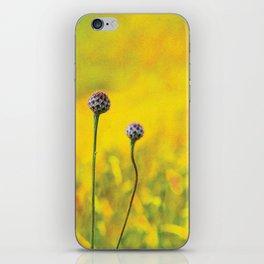 Summer ~ yellow iPhone Skin