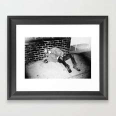 Vomit Framed Art Print