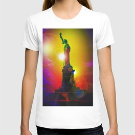 New York NYC - Statue of Liberty 10 T-shirt