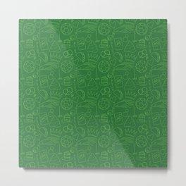 Kulti pattern Metal Print