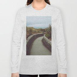 Pathway to Punakaiki Rocks Long Sleeve T-shirt