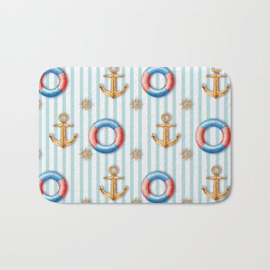 sea day Bath Mat