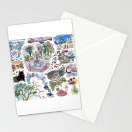 Random Access Paintings Stationery Cards