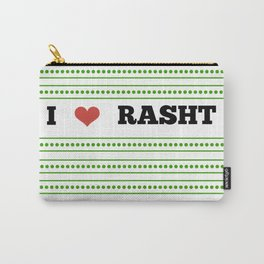 I Love Rasht Carry-All Pouch