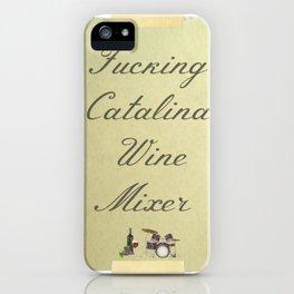 Catalina Wine Mixer iPhone Case