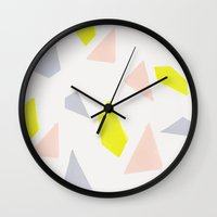 gravity Wall Clocks featuring Gravity by 83 Oranges™