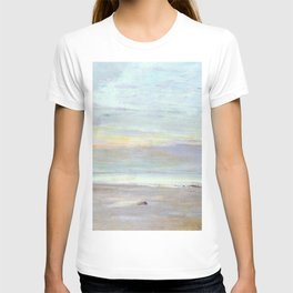 Crepuscule In Opal Trouville By James Mcneill Whistler | Reproduction T-shirt
