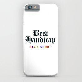 Best Handicap + Navy iPhone Case