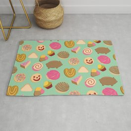 Pan Dulce Green Rug
