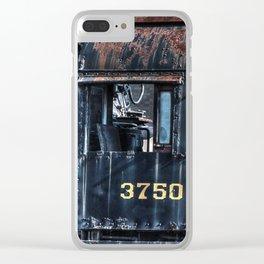 Train Cabin Clear iPhone Case