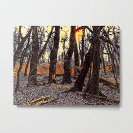 In the Prater Woods Metal Print