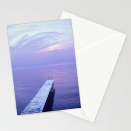Long Dock Coastal Potography Stationery Cards