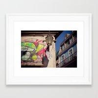 graffiti Framed Art Prints featuring graffiti by Sébastien BOUVIER
