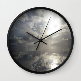 Reflections After The Storm Wall Clock