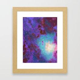 """""""Sea Jewels & Jetsam"""", Digital Painting // Fine Art Print Framed Art Print"""