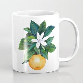 Citrus Flower Coffee Mug