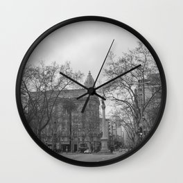 Plaza Cagancha - Montevideo Wall Clock