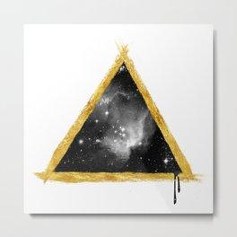 Cosmos Pyramid Metal Print