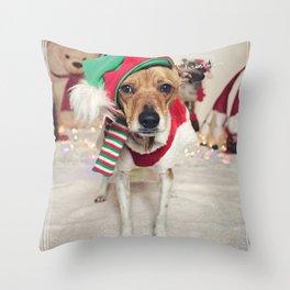 Sjuzi the (not so free) house elf... Throw Pillow