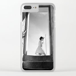 Tourist Clear iPhone Case