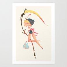 magical death Art Print