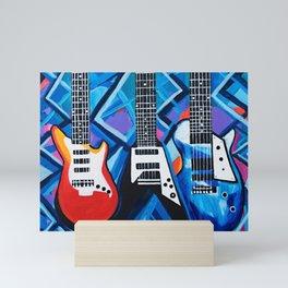Guitar Trio Mini Art Print