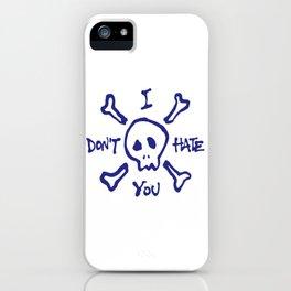 Skull & Indifferentbones iPhone Case