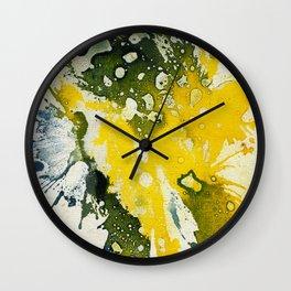 Polychromoptic #8 by Michael Moffa Wall Clock