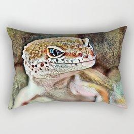 Toony Gekko Rectangular Pillow