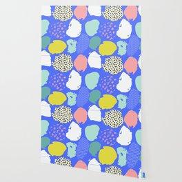 Blue Modern Wallpaper