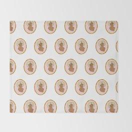 Valentine Pinup 5 Throw Blanket
