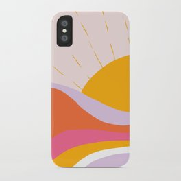 laurel canyon sunrise iPhone Case