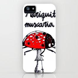 Mariquita muscaria iPhone Case