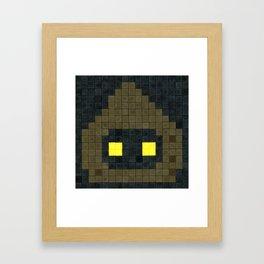 Jawa 8-bit Framed Art Print