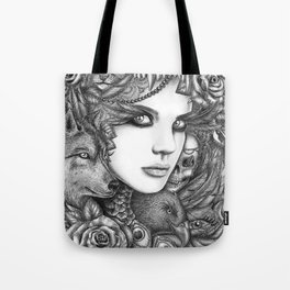 Wolf two Tote Bag