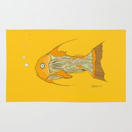 Francis the Fish Rug