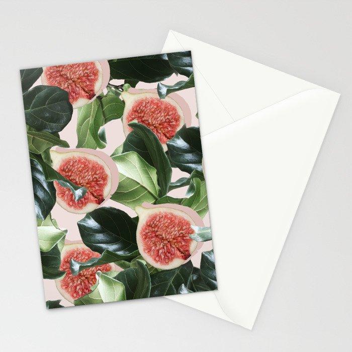 Figs & Leaves #society6 #decor #buyart Stationery Cards