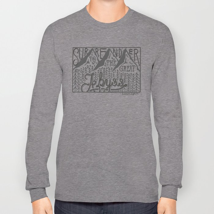 The Great Abyss Long Sleeve T-shirt
