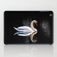 swan iPad Cases featuring Swan by Ami_P