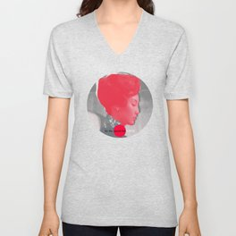 In the mood for love Unisex V-Neck