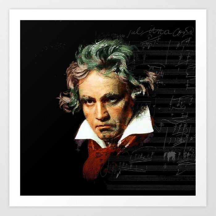 Beethoven - Music Demon Kunstdrucke