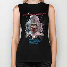 Not Clowns Biker Tank